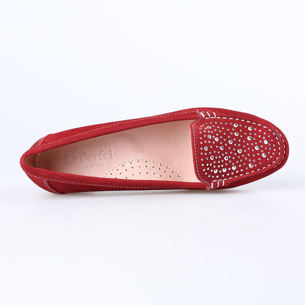 皮磨砂休闲鞋lp885116图片